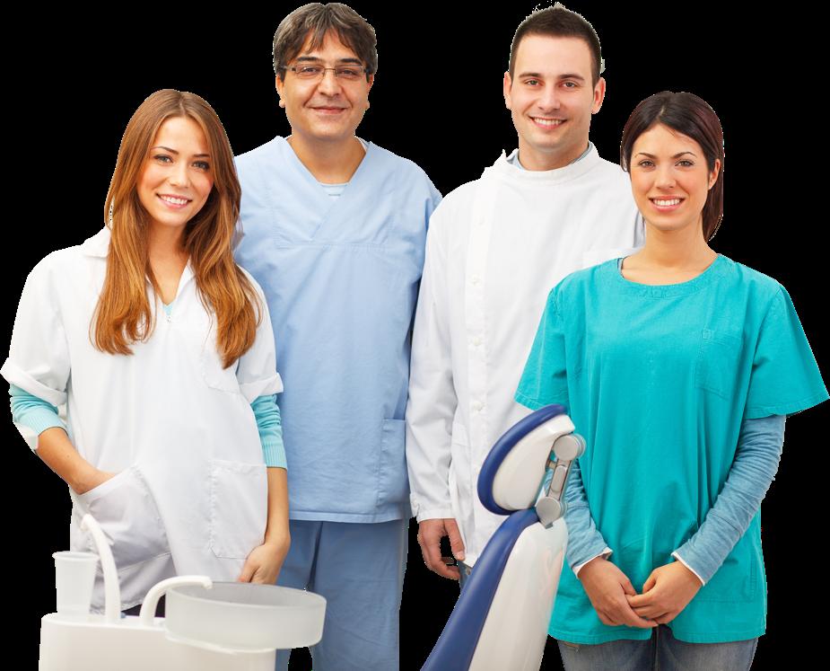 Specialisti di uno studio odontoiatria